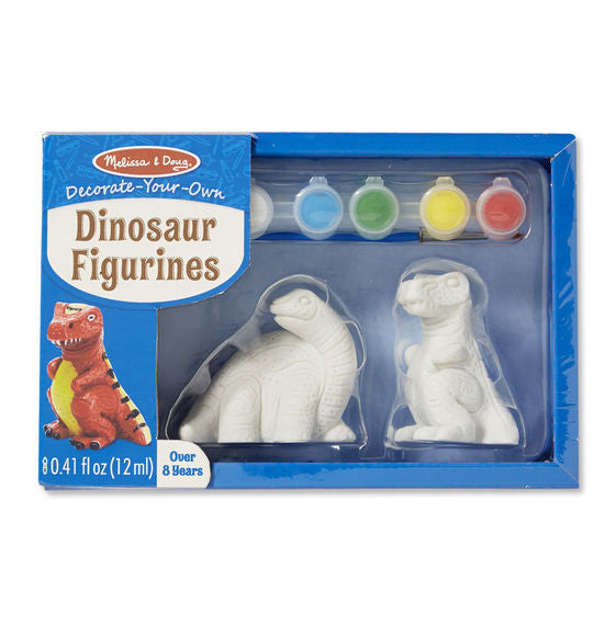 Melissa & Doug - Decorate-Your-Own: Dinosaur Figurines