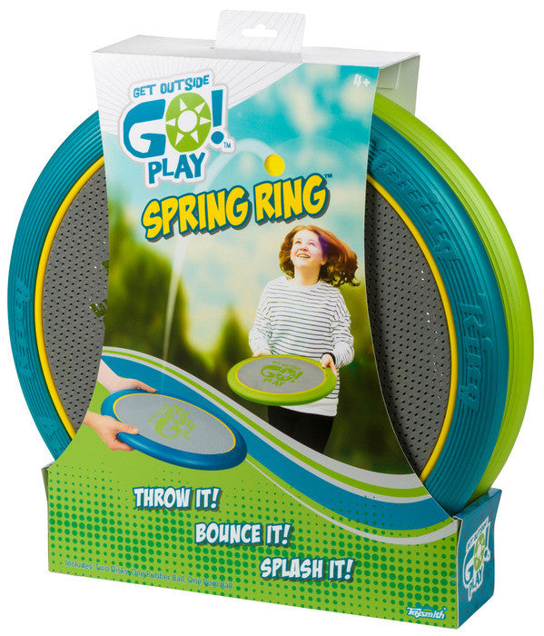 Toysmith Get Outside Go Play Spring Ring - 6147