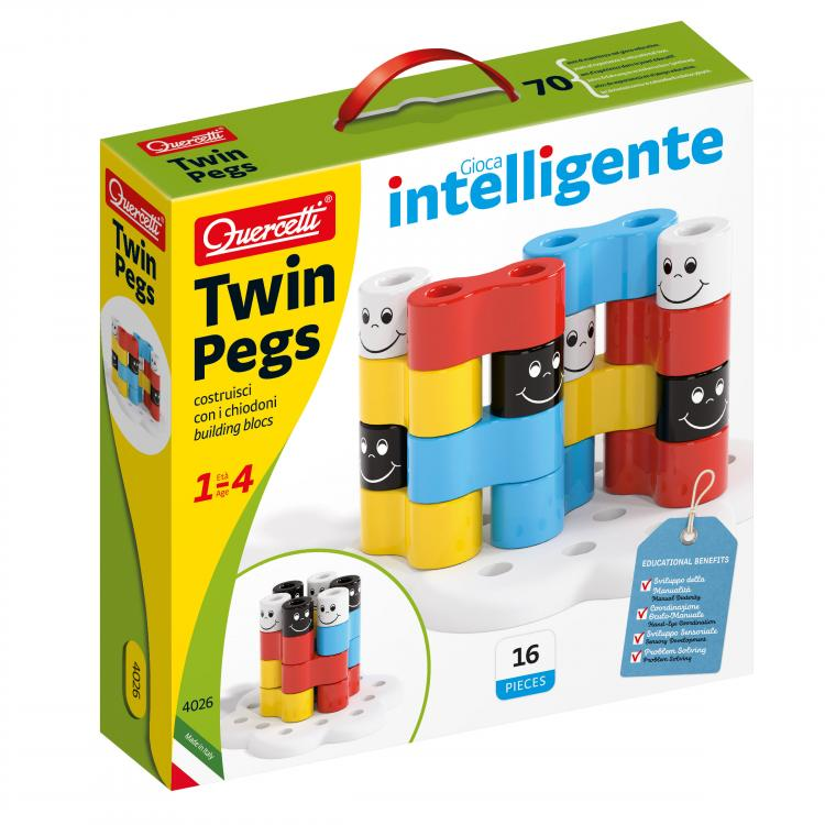 Quercetti - 040263 | Twin Pegs