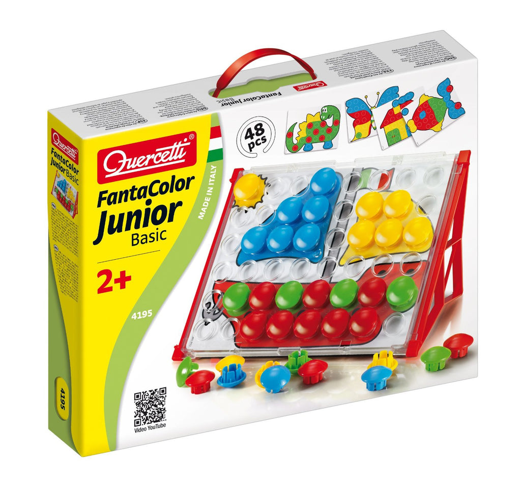 Quercetti FantaColor Junior Basic 48 Pieces - 4195