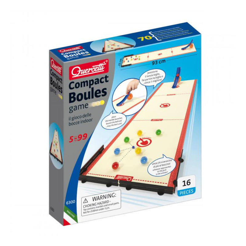 Quercetti - 6300 | Compact Boules Games