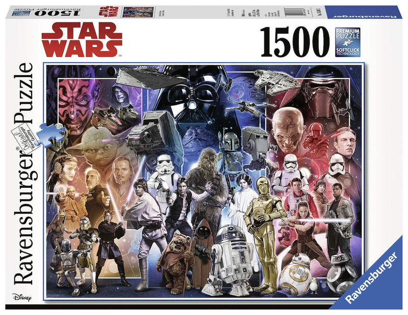 Ravensburger - 16366 | Star Wars: Whole Universe (1500 Piece Puzzle)