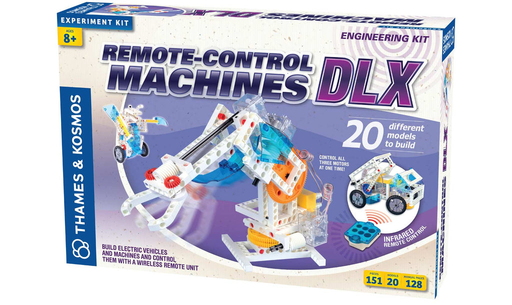 Thames & Kosmos Signature Series Remote-Control Machines DLX Kit - 620370