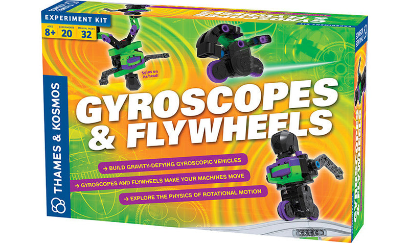 Thames & Kosmos Exploration Series Gyroscopes And Flywheels Kit - 665106