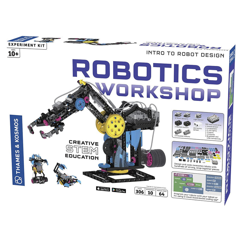 Thames & Kosmos - 620377 | Robotics Workshop Science Kit