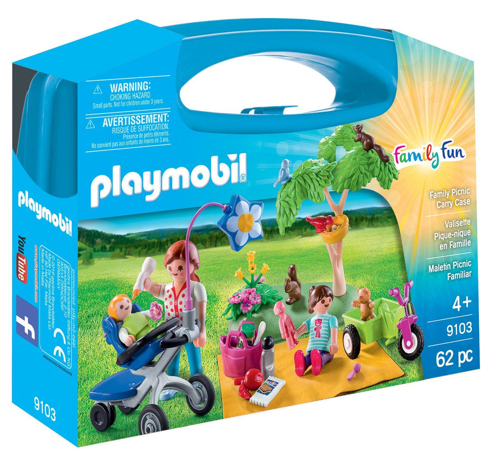 Playmobil - Family Fun: Family Picnic Carry Case