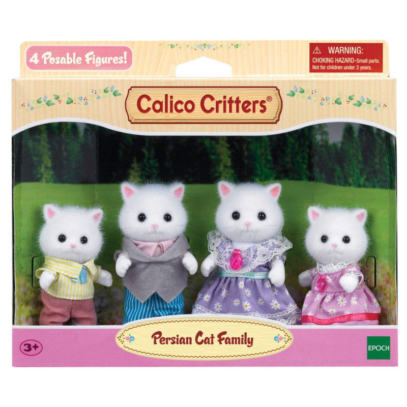 Calico Critters - CC1585 | Persian Cat Family