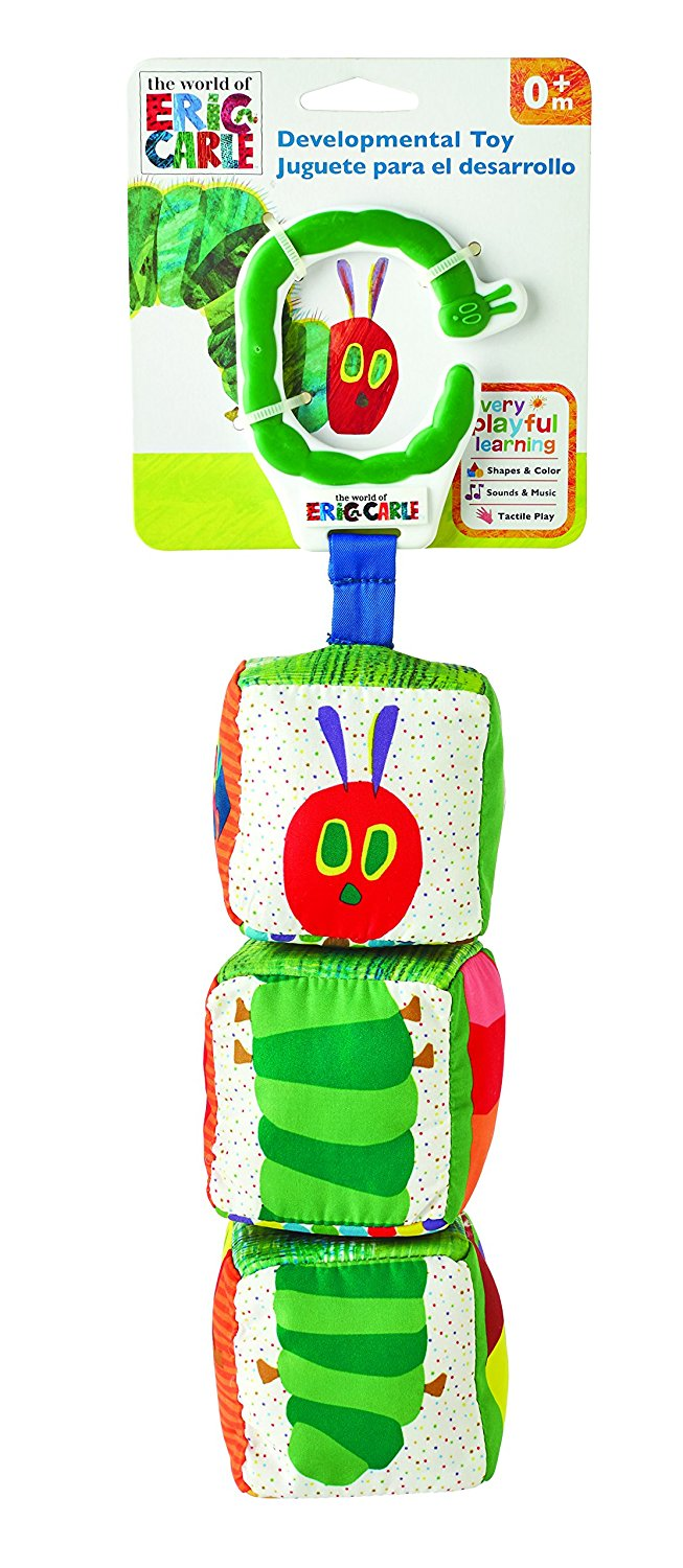 Kids Preferred: Eric Carle Twist 'N Click Blocks Travel Toy