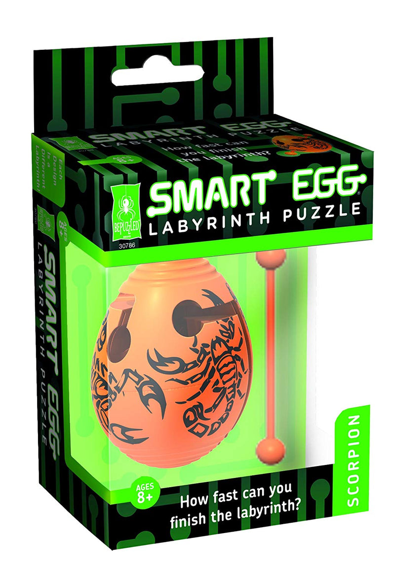 University Games - 30786 | Smart Egg Labyrinth Puzzle - Scorpion
