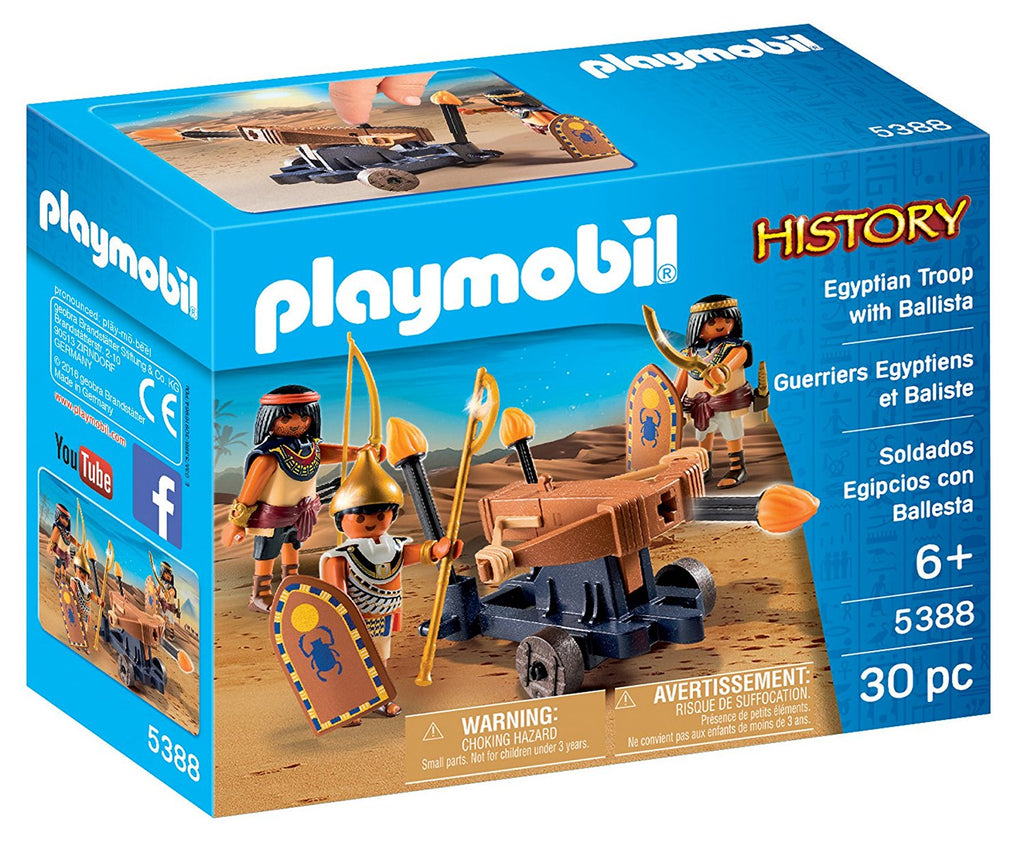 Playmobil - History: Egyptian Troop With Ballista