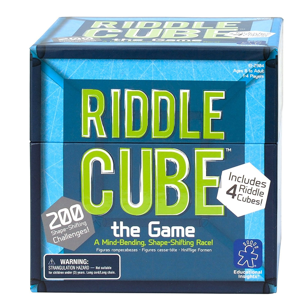 Educational Insights - EI2904 | RiddleCube The Game