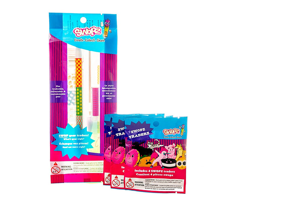 Swopz Set: Collectable and Tradeable Pen