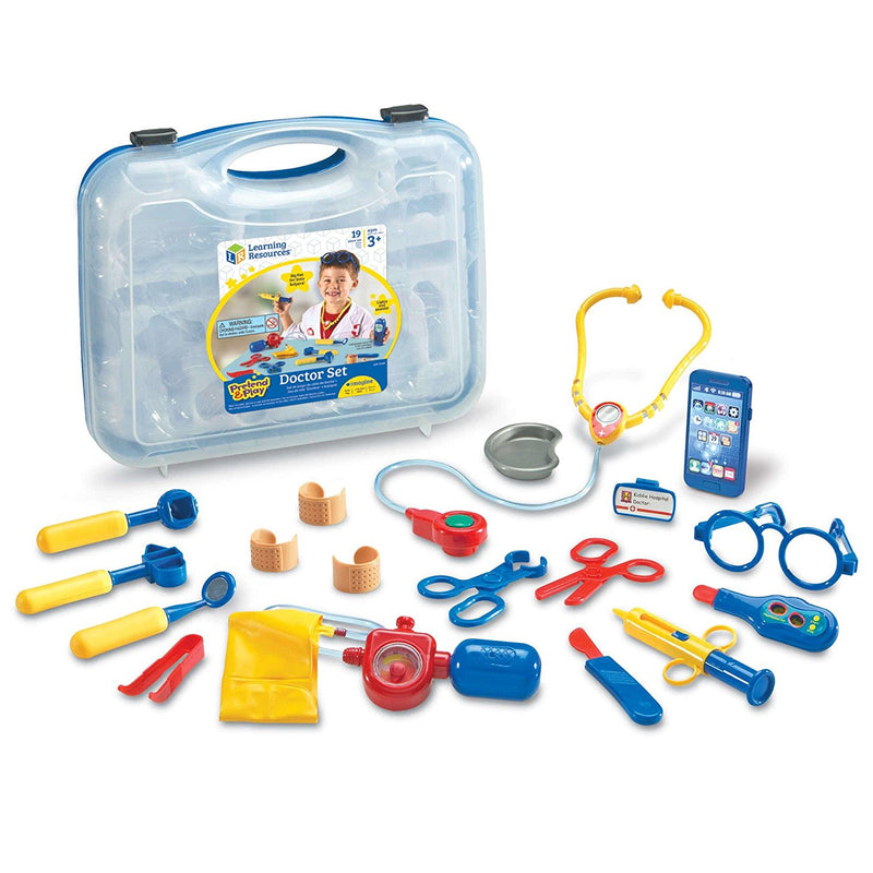 PRETEND & PLAY DOCTOR PLAY SET LEARNING RESOURCES - LER9057 Castle toys