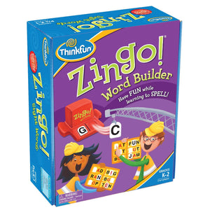 ThinkFun: Zingo Word Builder Board Game
