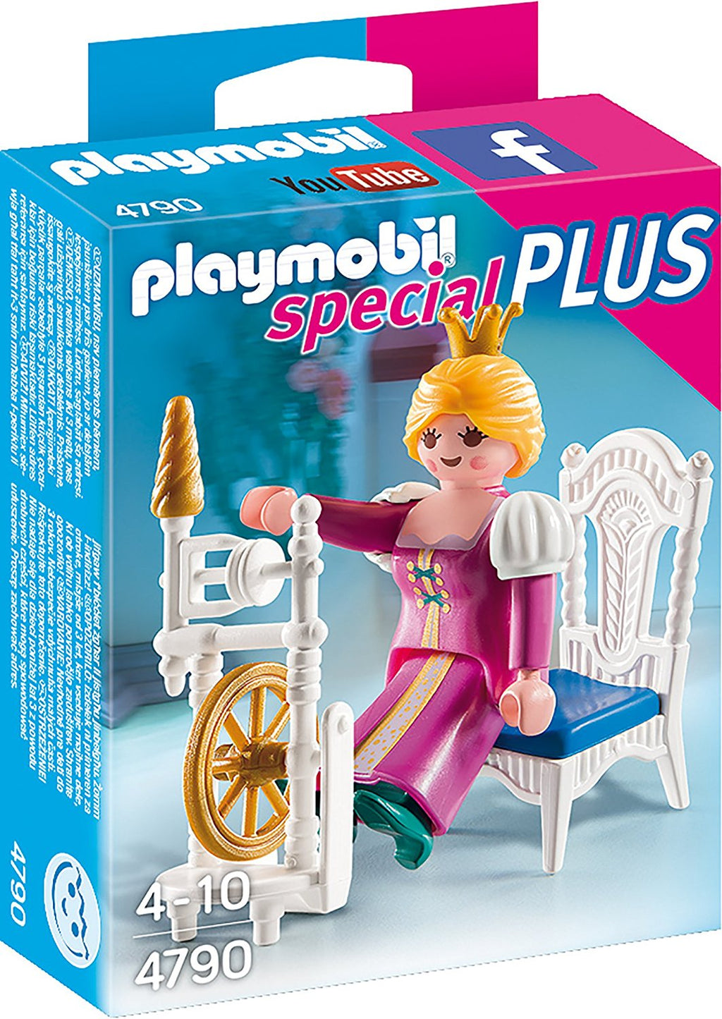 Playmobil - 4790 | Special Plus: Princess With Weaving Wheel