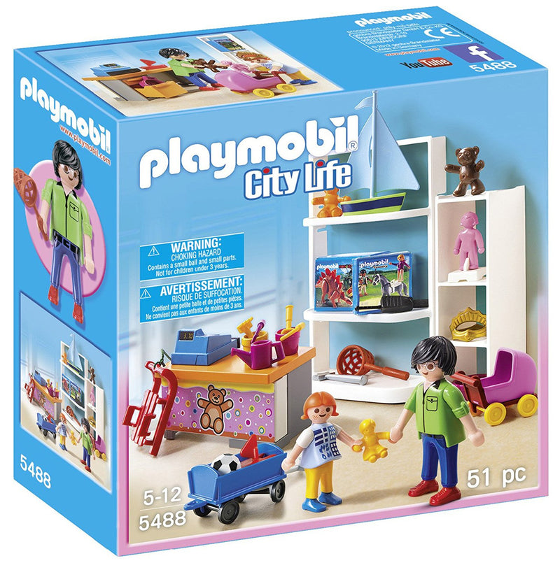 Playmobil - 5488 | City Life: Toy Shop