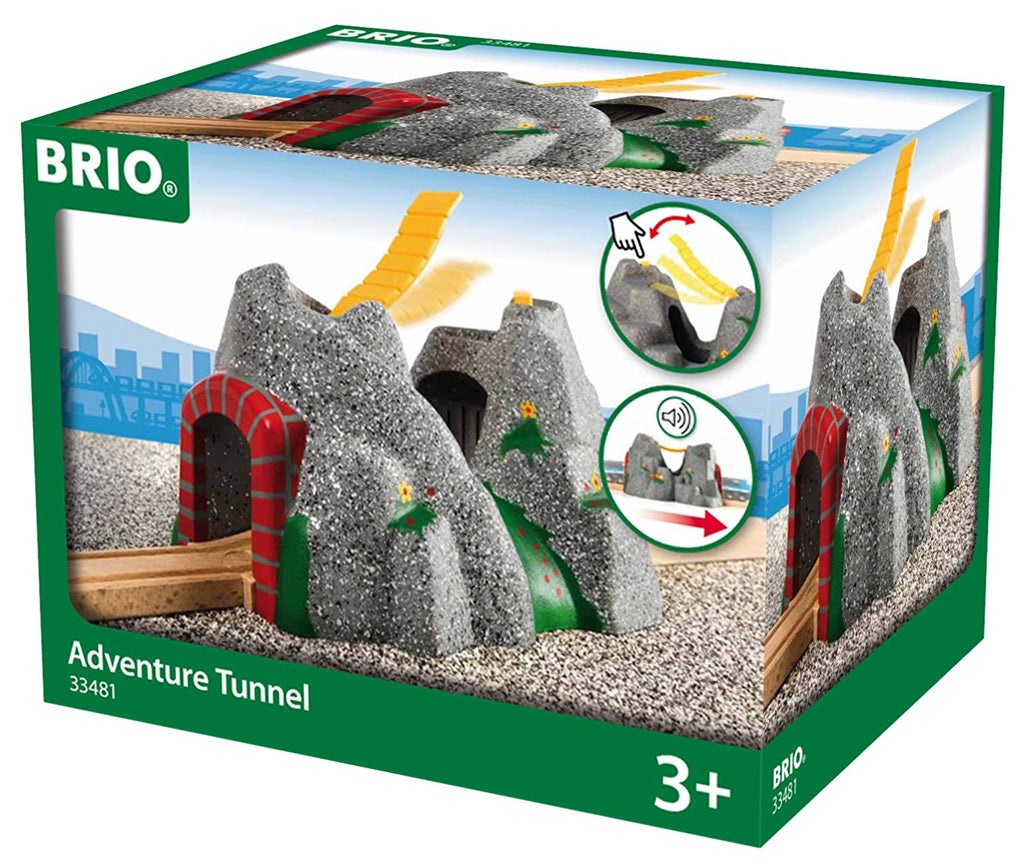 BRIO - 33481 | Adventure Tunnel