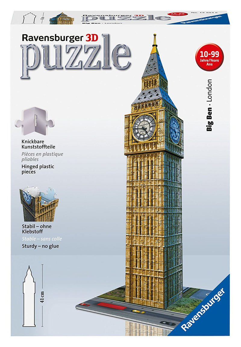 Ravensburger 216 Pieces Puzzle 3D Big Ben - 12554