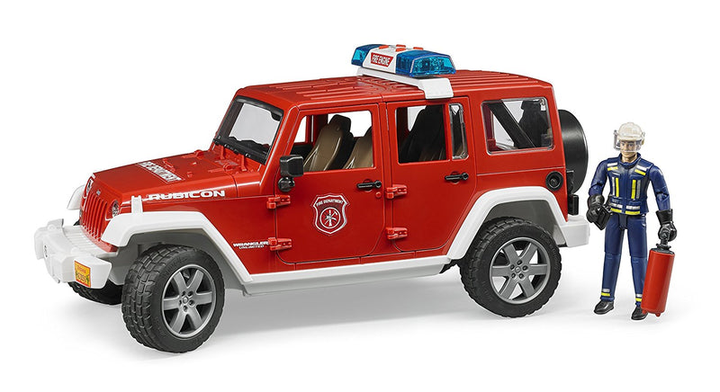 Bruder - 02528 | Emergency: JEEP Wrangler Unlimited Rubicon Fire Department