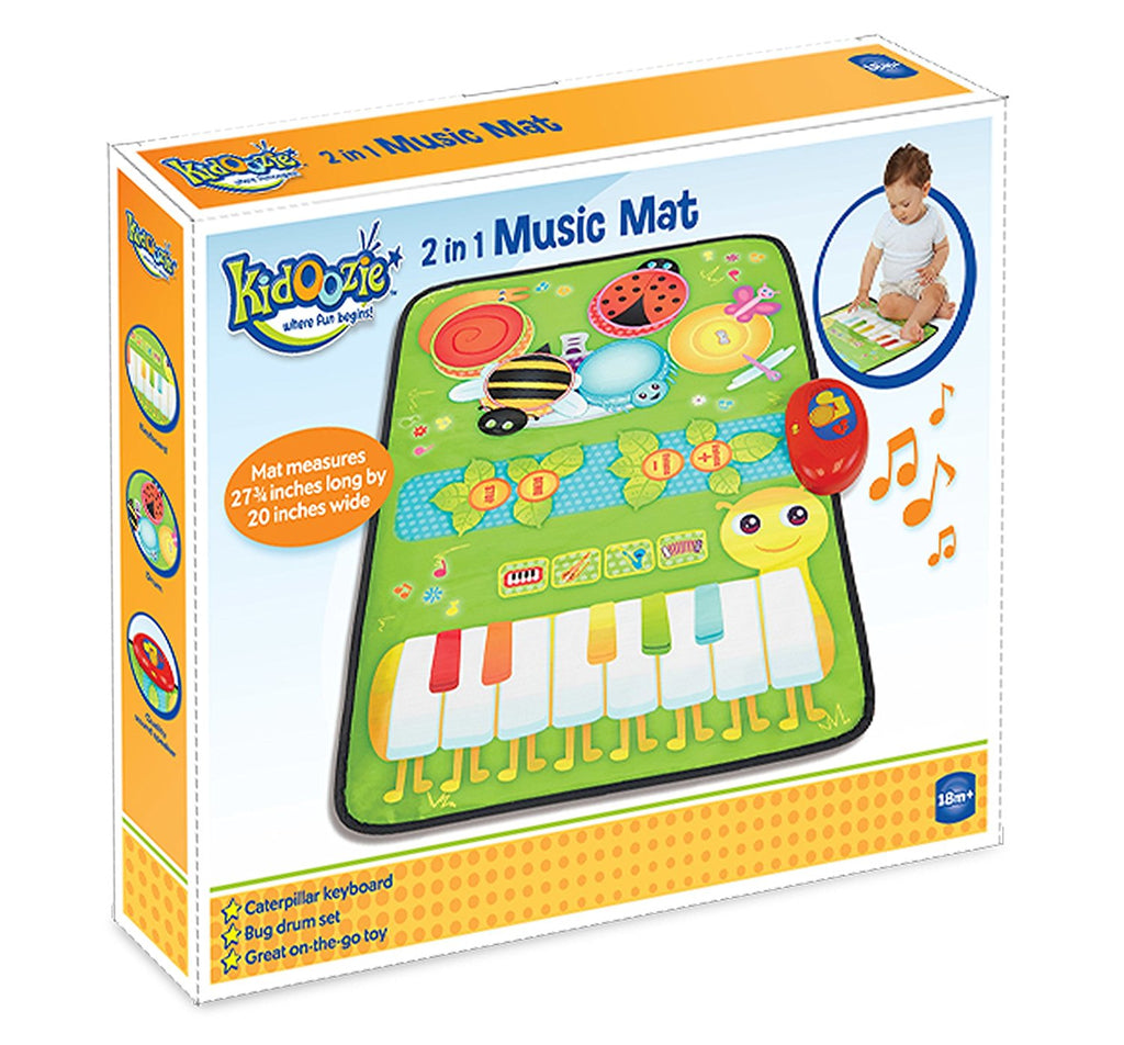 Kidoozie - G02536 | 2-In-1 Music Mat