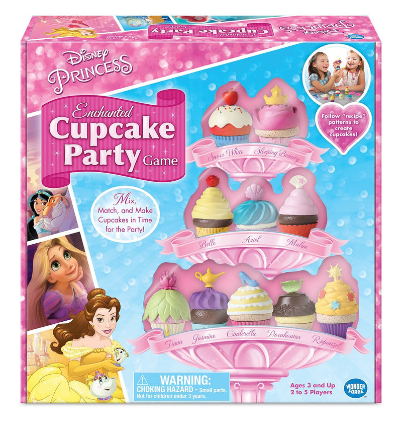 Wonderforge - Disney Princess: Enchanted Cupcake Party Game