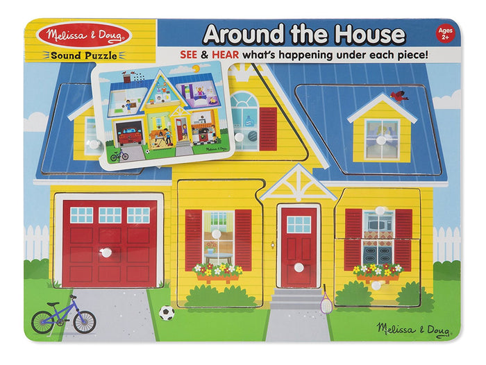 Melissa & Doug - 10734 | Sound Puzzle: Around the House