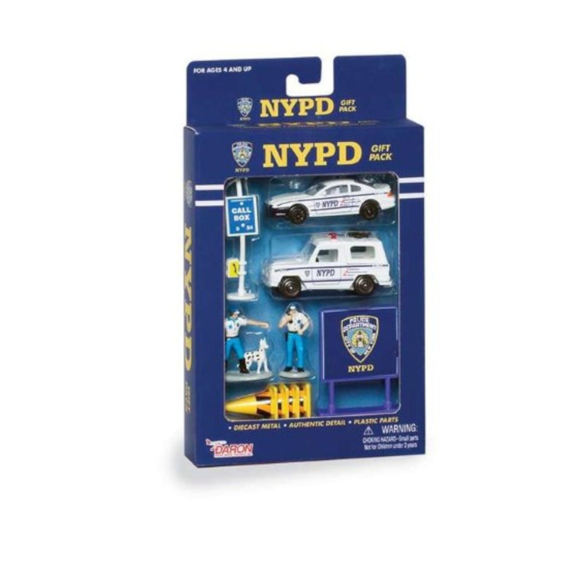 DARON WORLDWIDE - RT8600 | NYPD 10 Piece Gift Pack