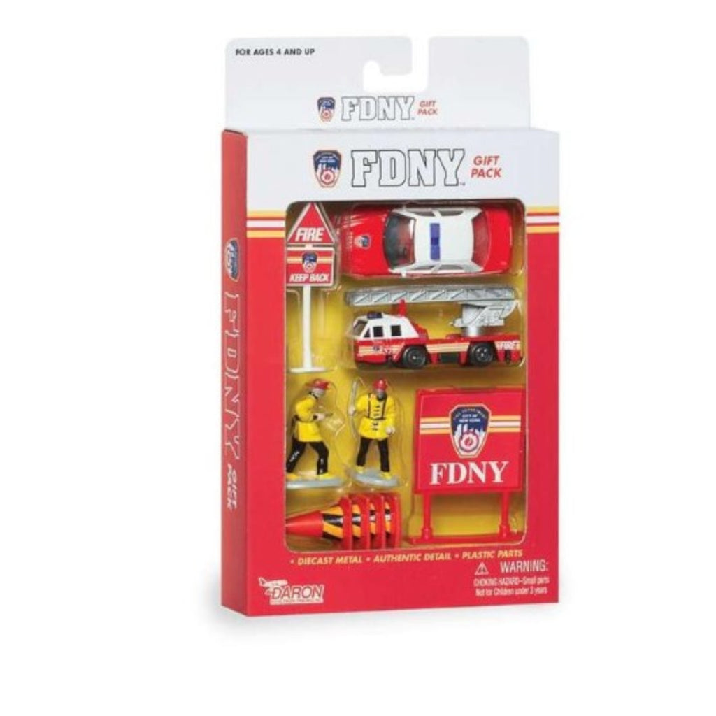 DARON WORLDWIDE - RT8740 | FDNY 10 Piece Gift Set