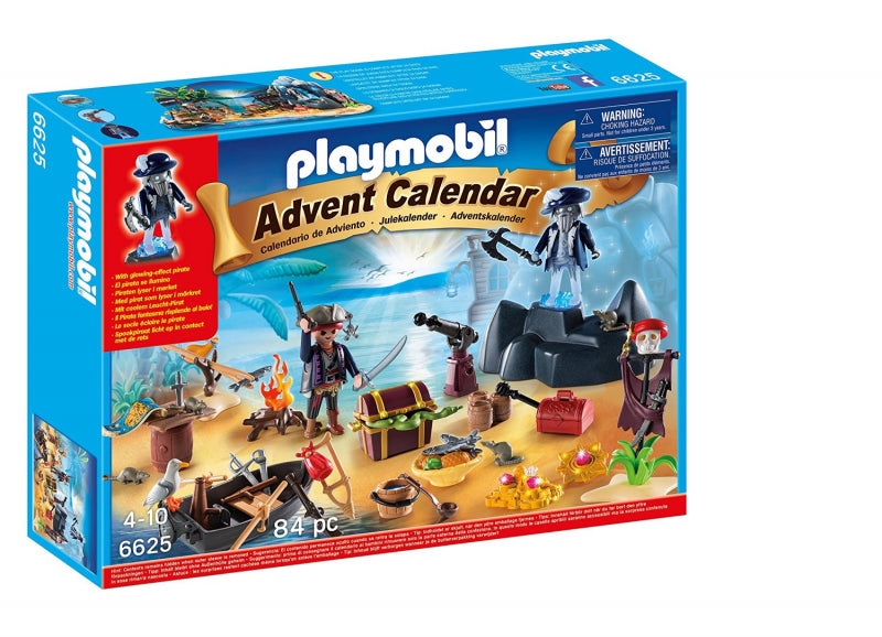 Playmobil advent calendar pirates treasure