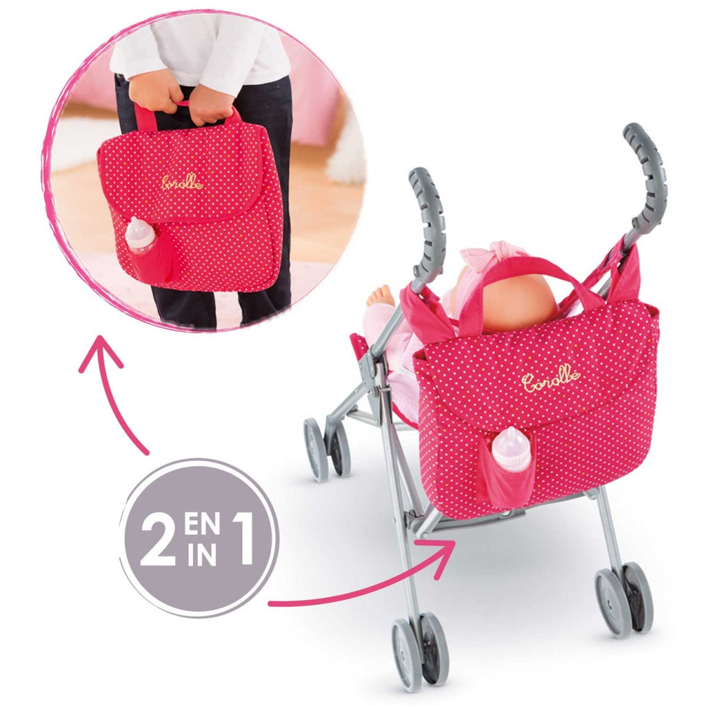 Corolle CLM96 Cherry Stroller Bag