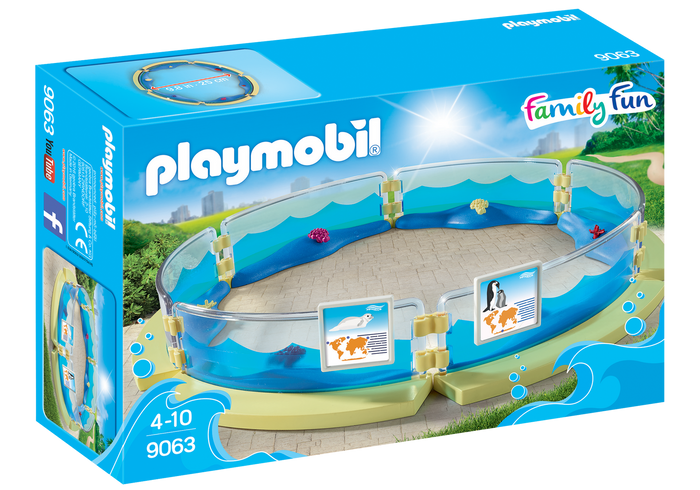 Playmobil - 9063 | Family Fun: Aquarium Enclosure
