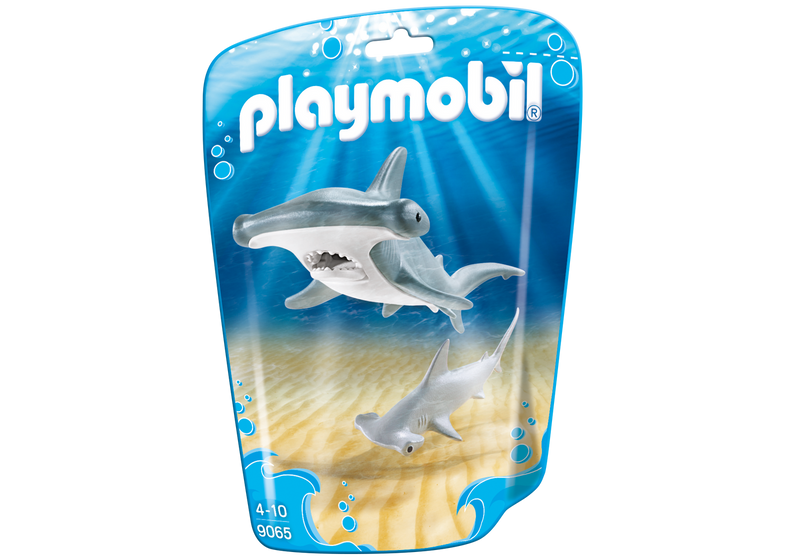 Playmobil - 9065 | Hammerhead Shark With Baby
