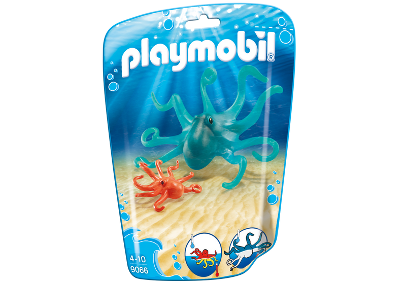Playmobil - 9066 | Octopus With Baby