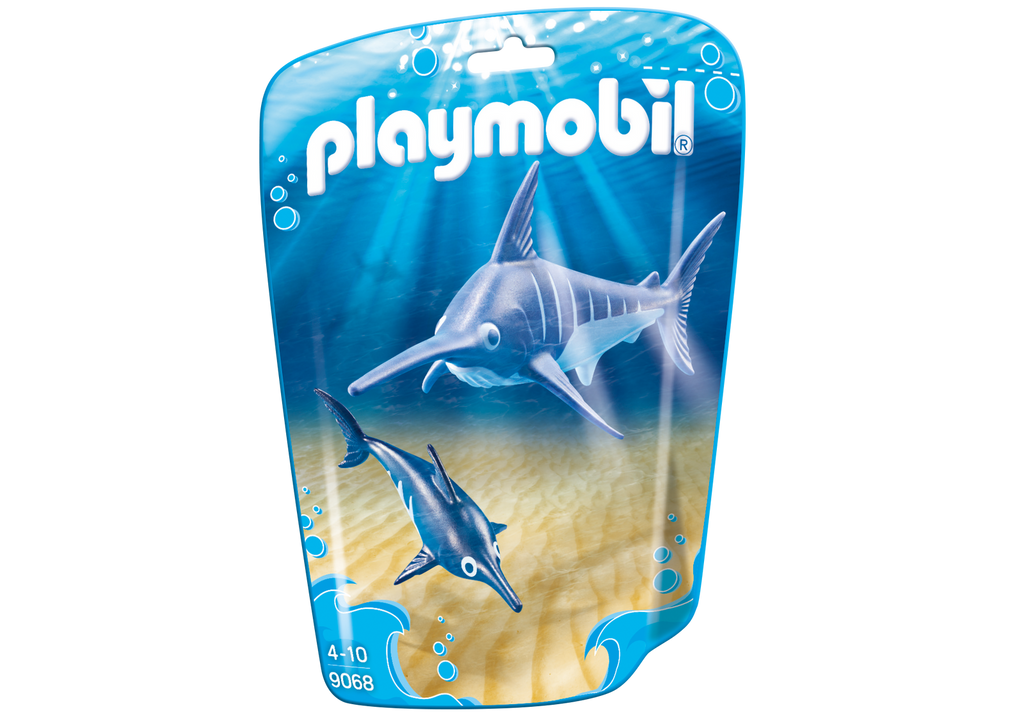Playmobil - 9068 | Swordfish With Baby