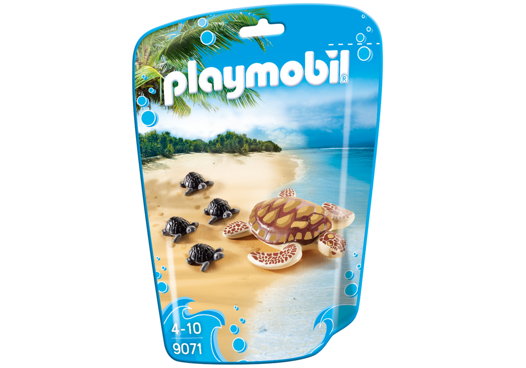 Playmobil - 9071 | Sea Turtle With Babies