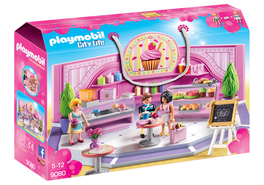 Playmobil - 9080 | City Life: Cupcake Shop