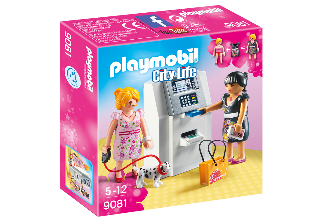 Playmobil - 9081 | City Life: ATM