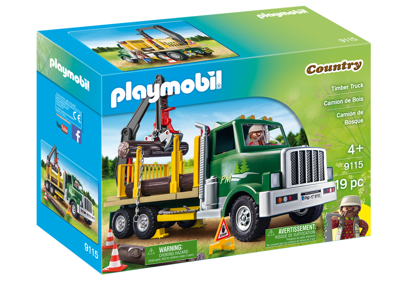 Playmobil - 9115 | Country: Timber Truck