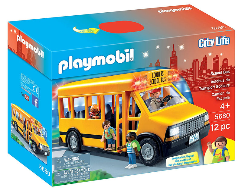 Playmobil - City Life: School Bus