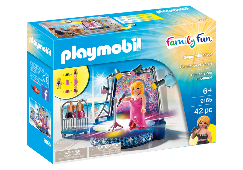 Playmobil - Family Fun: Singer With Stage