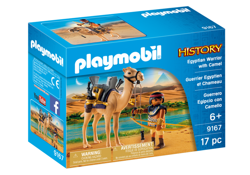 Playmobil - History: Egyptian Warrior With Camel
