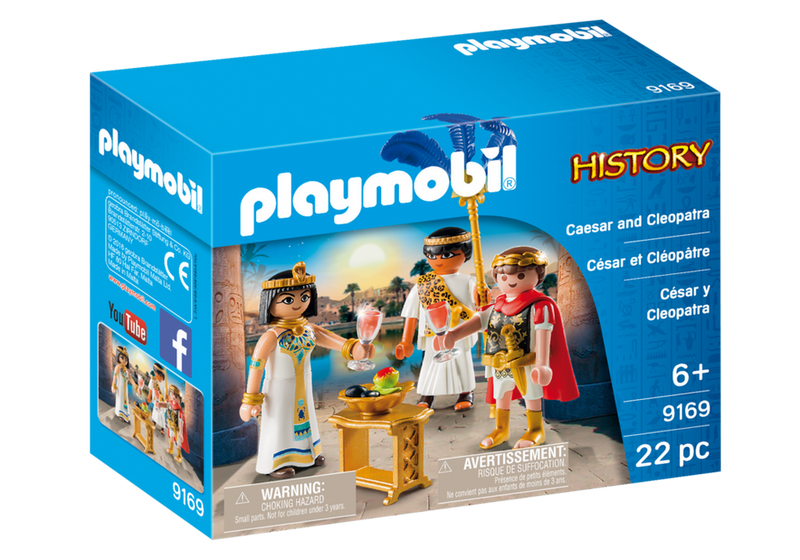 Playmobil - History: Caesar And Cleopatra