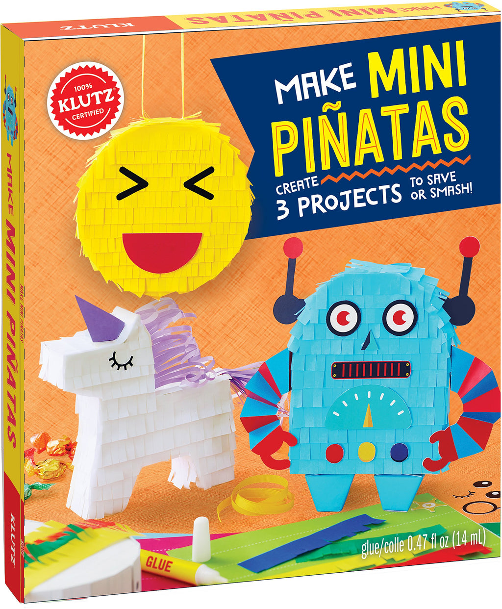 KLUTZ MAKE MINI PINATAS Castle toys