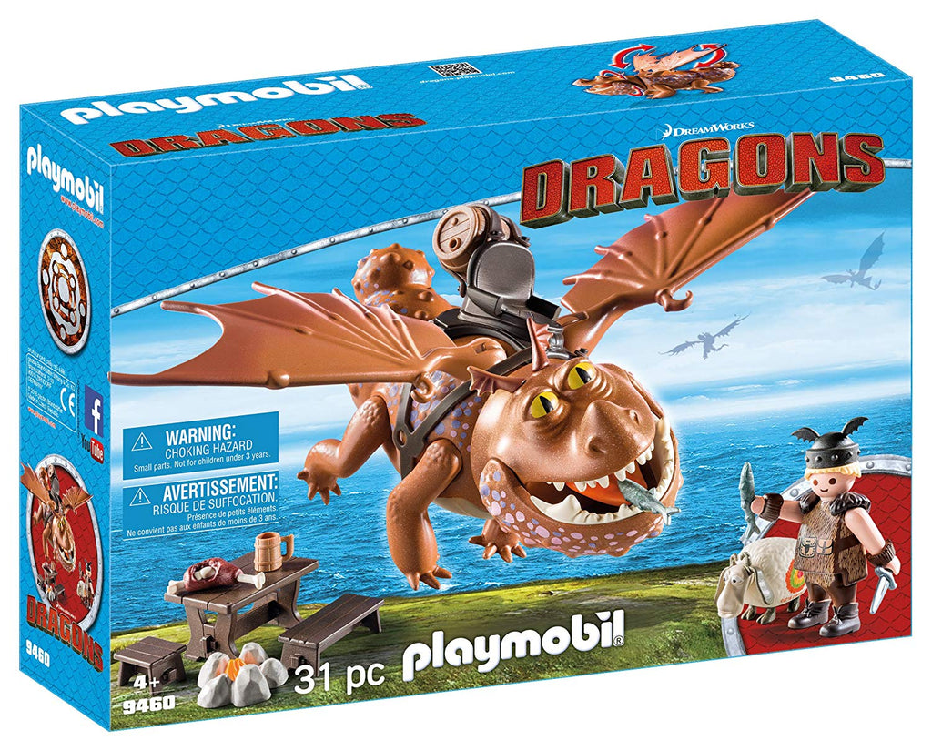 Playmobil - 9460 | DreamWorks Dragons: Fishlegs And Meatlug