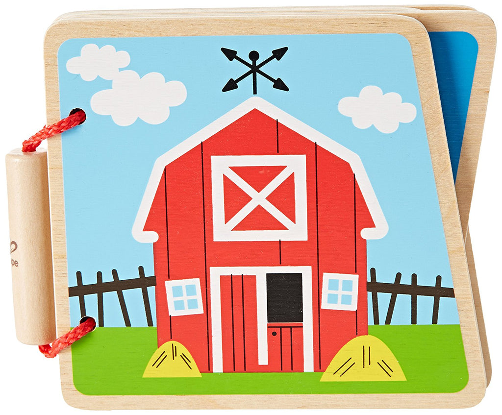 Hape - At The Farm Wooden Book