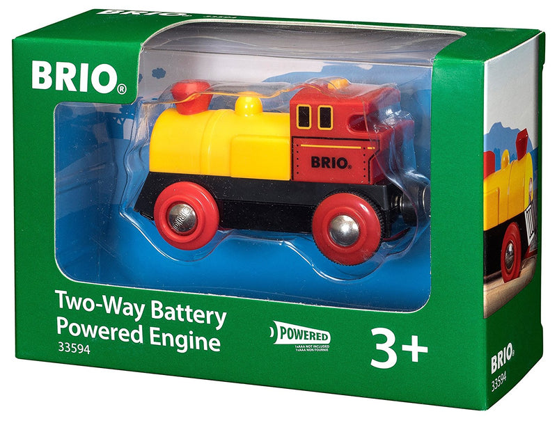 BRIO - 33594 | Two-Way Battery Powered Train Engine