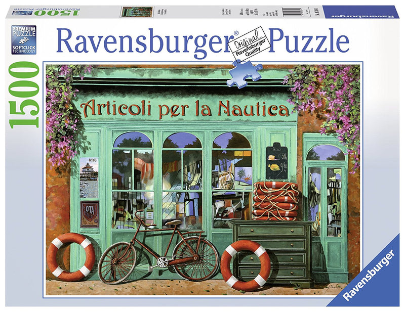 Ravensburger - The Red Bicycle 1500 Piece Puzzle