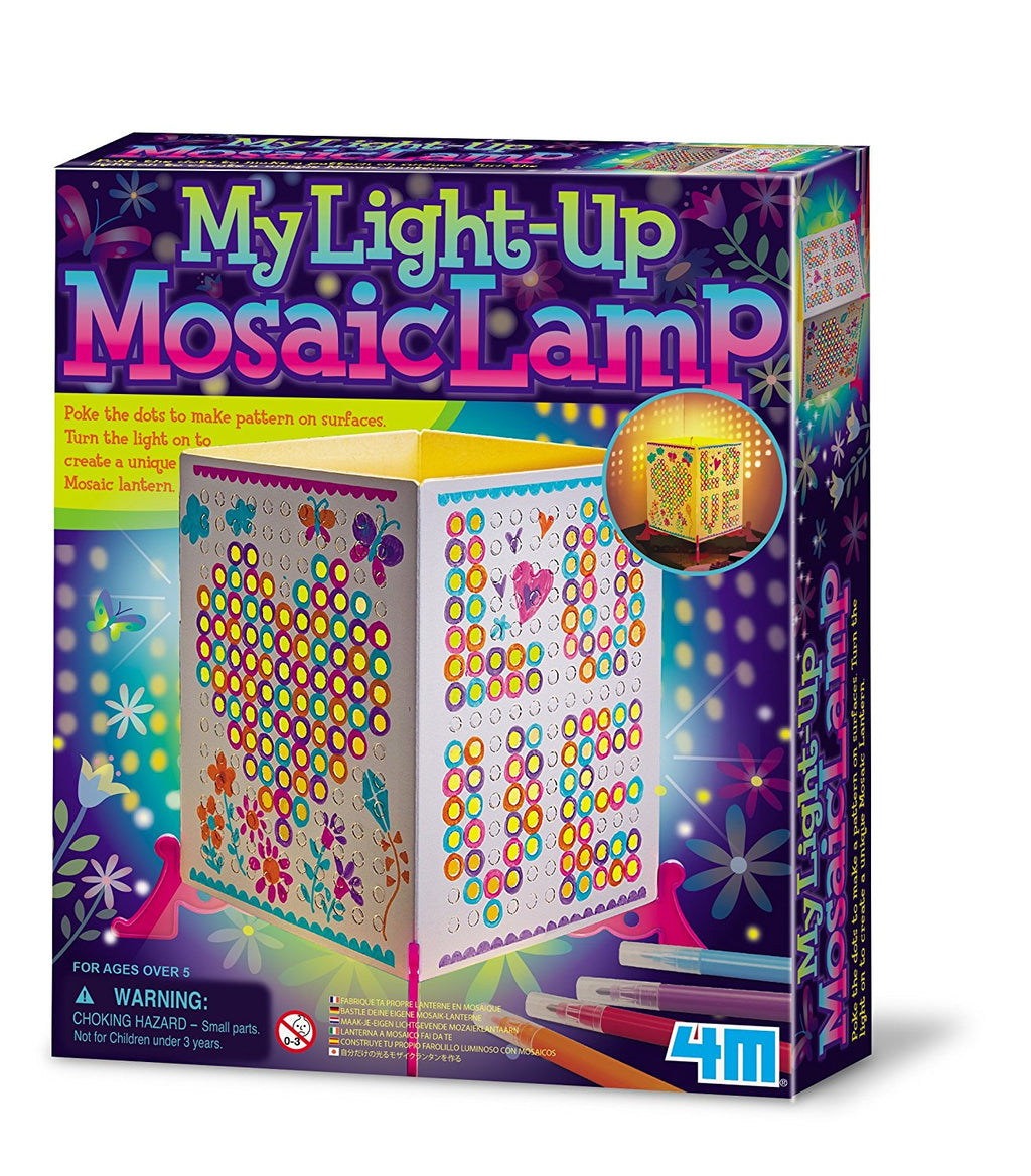 4M - P4618 | Make Your Own Light-Up Mosaic Lantern