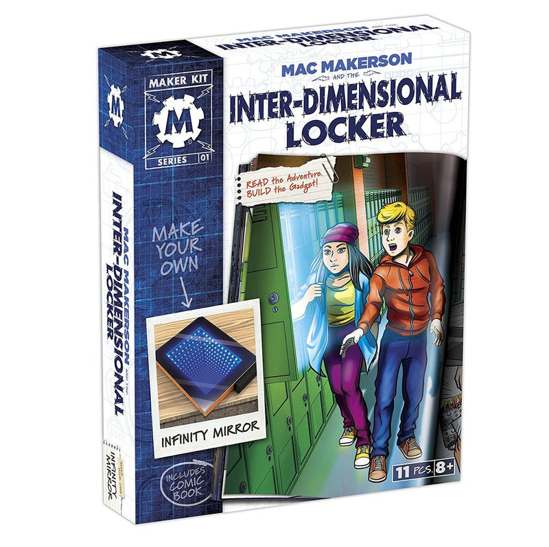 MAKER KIT: INTER-DIMENSIONAL LOCKER Castle toys