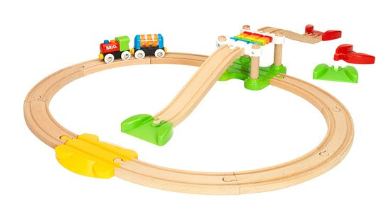 BRIO - 33727 | My First Railway Beginner Set